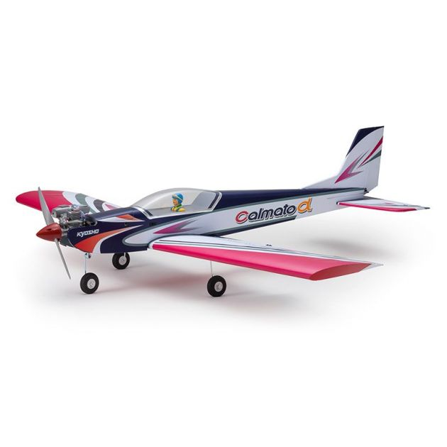 Aeromodelo Kyosho 1:6 Rc Ep/Gp Calmato Alpha 40 Sports Toughlon Roxo
