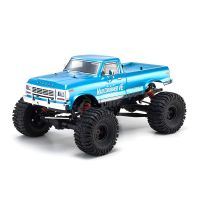 AUTOMODELO KYOSHO 1:8 RC EP RS MONSTER TRUCK MAD CRUSHER BRUSHLESS 4WD AZUL RÁDIO KT231P