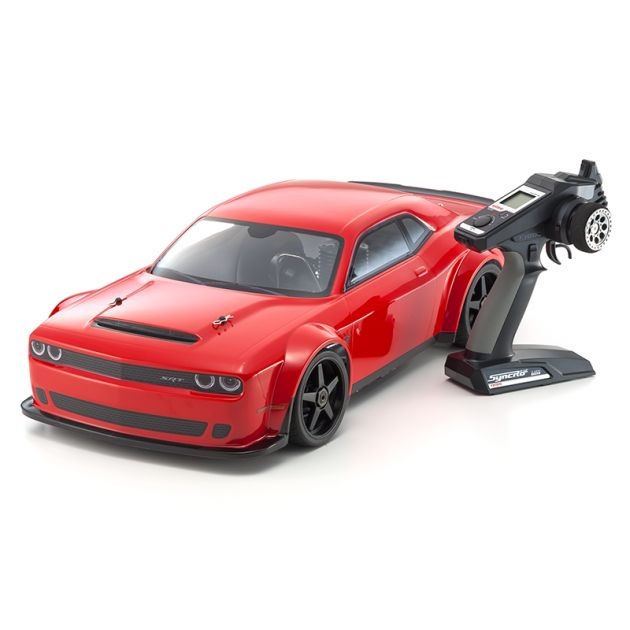 Automodelo Kyosho 1:8 Rc Gp Inferno Gt2 Race Spec 4x4 Motor .25 Dodge Challenger SRT Demon 2018