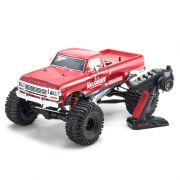 Automodelo Kyosho 1:8 Rc Gp Monster Truck Mad Crusher 4x4 Motor .25 Vermelha Rádio Kt231P+