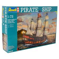 Kit de Montar Pirate Ship 1:72 Revell