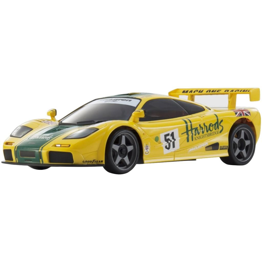 Automodelo Kyosho 1:27 Rc Ep Mini-Z Racer Sports2 Mr-03 Mclaren F1 Gtr 1995 Amare Rádio Kt19